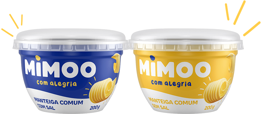 Manteiga Comum - Com Sal e Sem Sal